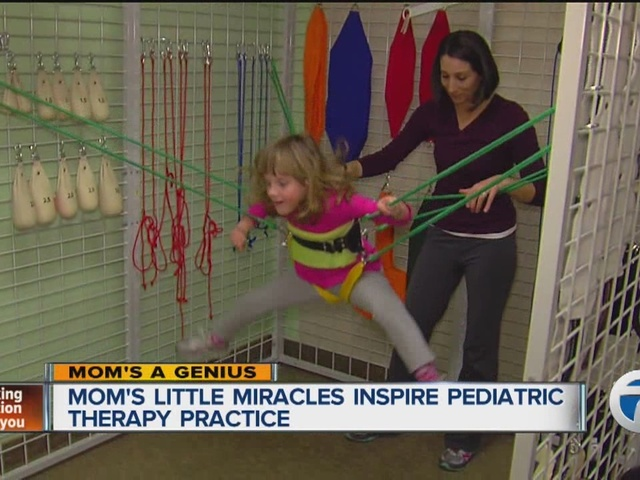 Mom's little miracles inspire her to open a new pediatric therapy clinic